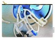 Tarheel Football Helmet Nixo Carry-all Pouch