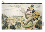 Tariff Lobbyist, 1897 Carry-all Pouch