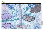 Tarot Of The Younger Self Ace Of Swords Carry-all Pouch