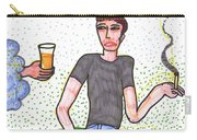 Tarot Of The Younger Self Four Of Cups Carry-all Pouch