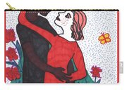 Tarot Of The Younger Self The Lovers Carry-all Pouch