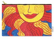 Tarot Of The Younger Self The Sun Carry-all Pouch