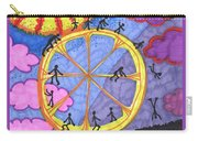 Tarot Of The Younger Self The Wheel Carry-all Pouch