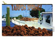 Tarpon Springs Postcard Carry-all Pouch