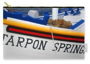 Tarpon Springs Sponge Diving Boat Carry-all Pouch