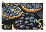 Tart With Blueberries Carry-all Pouch