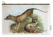 Tasmanian Tiger, Extinct Species Carry-all Pouch