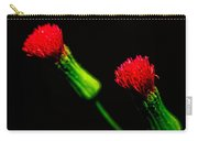 Tassel Flower Carry-all Pouch