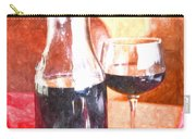 Taste The Wine Carry-all Pouch