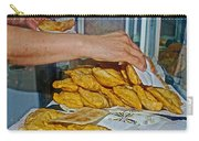 Tasty Hot Empanadas For Lunch In Angelmo Fish Market In Puerto Montt-chile Carry-all Pouch