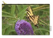 Tattered Tiger Swallowtail Butterfly          August         Indiana Carry-all Pouch