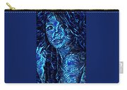 Tatto Lady With The Blues Carry-all Pouch