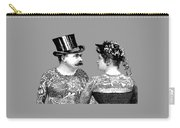 Tattooed Victorian Lovers Carry-all Pouch
