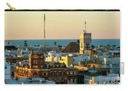 Tavira Tower And Post Office From West Tower Cadiz Spain Carry-all Pouch