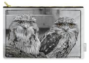 Tawney Frogmouths Carry-all Pouch