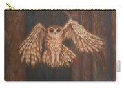 Tawny Owl In Flight Carry-all Pouch