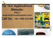 Taxi Booking Application Carry-all Pouch