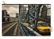 Taxi Crossing Smithfield Street Bridge Pittsburgh Pennsylvania Carry-all Pouch