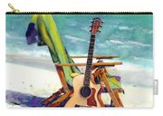 Taylor At The Beach Carry-all Pouch