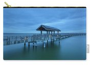 Taylor Dock Boardwalk At Blue Hour Carry-all Pouch