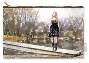 Taylor Swift Watercolor Carry-all Pouch
