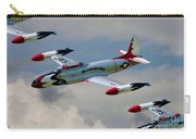 Tbirds Lockheed T-33 Shooting Star Carry-all Pouch