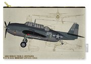 Tbm-3 Avenger Profile Art Carry-all Pouch