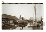 T.c. Walker Paddle Riverboat City Of Stockton Riverboat And Kath Carry-all Pouch