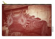 Tcu Horned Frog Red Carry-all Pouch