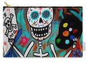 Te Amo Painter Dia De Los Muertos Carry-all Pouch