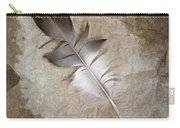Tea Feather Carry-all Pouch