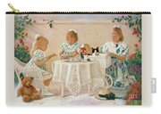 Tea In The Rose Garden Carry-all Pouch