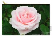 Tea Rose In Pink Carry-all Pouch