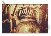 Tea Time Tin Sign Carry-all Pouch