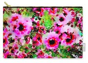 Tea Tree Garden Flowers Carry-all Pouch