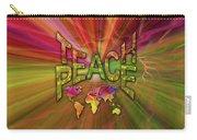 Teach Peace Carry-all Pouch