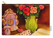 Teacup And Roses Carry-all Pouch
