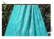 Teal Green Lace Skirt. Ameynra By Sofia Carry-all Pouch