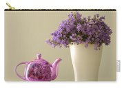 Teapot And Flowers In A Vase Carry-all Pouch