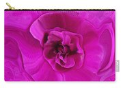 Teapot Rose Carry-all Pouch