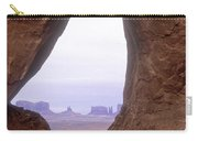 Teardrop Arch-monument Valley Carry-all Pouch