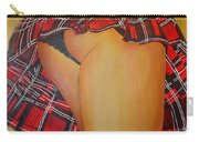 Tease Me In Tartan Carry-all Pouch