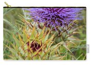 Teasel In Bloom Carry-all Pouch