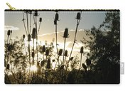 Teasel Sunset Glow Carry-all Pouch
