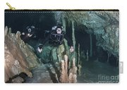 Technical Divers In Dreamgate Cave Carry-all Pouch