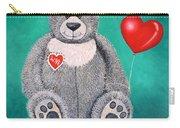 Teddy Bear Eli Carry-all Pouch
