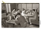 Teens At A Diner, C. 1950s Carry-all Pouch