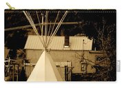 Teepee In Montana Carry-all Pouch
