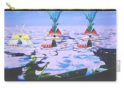 Teepees On Ice Carry-all Pouch
