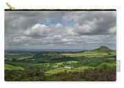 Tees Plain And Roseberry Topping Carry-all Pouch